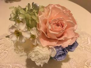 成人式の髪飾り - 横浜 白楽のプリザーブドフラワー教室 rose blancheへようこそ