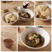 麻油雞(黒胡麻油鶏スープ) 他 - キューニーの食卓