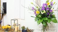 季節を束ねる早春花のブーケ - Impression Days