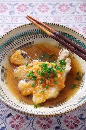 10分以内で!白身魚のおろし煮 - cafeごはん。ときどきおやつ