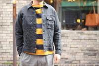 "melple 進化するリネン素材を使用した ""MW Jacket"" ご紹介です。 - FREEMAN BLOG 松山市セレクトショップ古着ジャクソンマティスmelple(メイプル)"