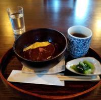 夕暮れ時の MIKAGE CHYAYA * あったか「きびぜんざい」でほっこり♪ - ぴきょログ~軽井沢でぐーたら生活~