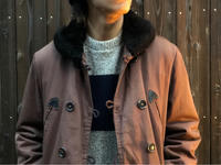 "~1960's ""POWR HOUSE"" Cotton twill Car coat - BAYSON BLOG"