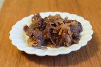 小皿つまみ*本気の牛しぐれ煮 - 小皿ひとさら