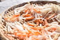 干し野菜*大根とにんじんミックス - 小皿ひとさら