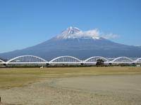 富士川さった峠日本平富士山 - いぐさん流 山と花の写真(富士山)