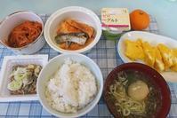 お休みの日、家で食べる食事はこんな感じ。 - そのままで。