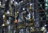 ダイセル大竹工場 - 光る工場地帯-INDUSTRIAL AREA