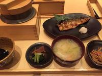 20日 サバ塩焼定食@一汁五穀 - 香港と黒猫とイズタマアル2