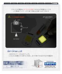 AC100vを直結できるLED( 50W 昼白色 ) - 39medaka