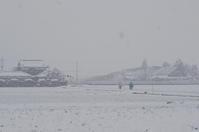 今朝は雪で・・・ - きょうから あしたへ その2