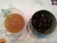 りんごジャムと花豆の甘煮 - miitaの日記