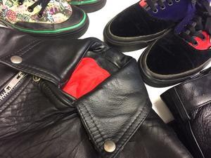 「 SMALL LEATHER & OLD SNEAKER 」 - GIANT BABY    used&vintage clothing & culture & happy