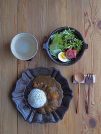 カレーの朝ごはん - 陶器通販・益子焼 雑貨手作り陶器のサイトショップ 木のねのブログ