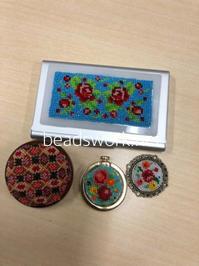 プラナカンビーズ刺繍 生徒様の作品 - プラナカンビーズ刺繍  ビーズワークと旅