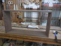 壁掛け棚 - 手作り家具工房の記録