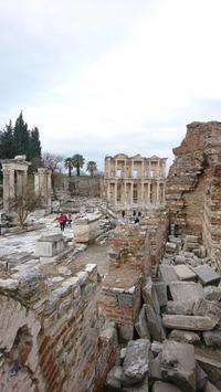 トルコ多重奏旅行記2日目エフェソス遺跡とアルテミスの神殿 - 鴎庵