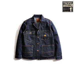 TROPHY CLOTHING(トロフィークロージング) 2604 Dirt Denim Coverall - UNIQUE JEAN STORE American Casual Side