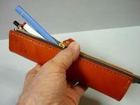 ペンケース・・ オイルレザーを初採用 - 革小物 paddy の作品
