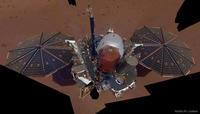 火星探査装置インサイトが捉えた火星の地表とインサイトの自画像 - 秘密の世界        [The Secret World]
