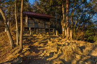トワイライトの日和田山へ - デジカメ写真集