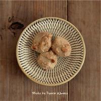 里芋のピーナッツ衣 - ふみえ食堂  - a table to be full of happiness -