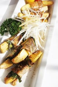 ■居酒屋メニュー【大葉入り肉巻きポテトのソテー】簡単6分♪ - 「料理と趣味の部屋」