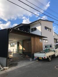 「小さなガレージハウス」現場の様子 - 桂建設の日々ブログ