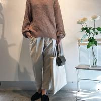 春らしいセーター - SHE DANCES TO SILENT MUSIC