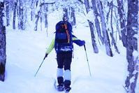 登山冬山2019年1月21日・22日テント泊近隣の里山 - フクちゃんのフライ日記