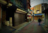 街角スナップ・三浦半島朝の静かな三浦市商店街 - 天野主税写遊館