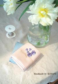 春色の布とワッペン - 子ども服と大人服 KONO'N