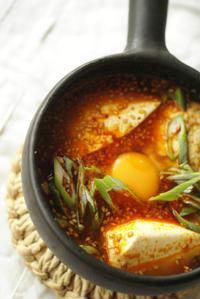 あったか土鍋で純豆腐定食 - 工房正島ぶろぐ