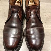 履きこまれた靴ほど - シューケアマイスター靴磨き工房 銀座三越店
