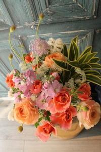 ご結婚記念日の花123 - 北赤羽花屋ソレイユの日々の花