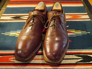 """ Santoni "" fatte a mano Hole Cut Shoes!! - BAYSON BLOG"