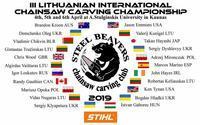 リトアニアの大会選手決定! - ログ鷹日記