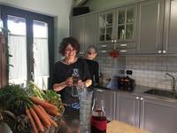 教室ツアーin Piemonte6日目②フェルナンダ先生の料理レッスン - ユキキーナの日記