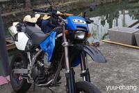 美観地区にバイク - 下手糞PHOTO BLOG