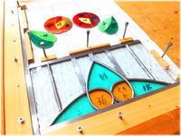 スタンド看板用パネル -part3- - グラス工房 Grendora  -制作の足跡と日常-