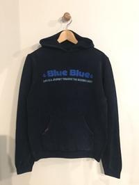 BLUE BLUE / インディゴコットン BLUEBLUE エンブロイダリー プルパーカ - Safari ブログ