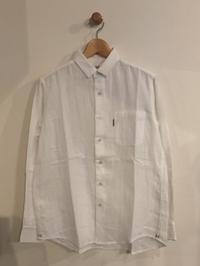 HOLLYWOOD RANCH MARKET / カラーWガーゼ ショートカラー ロングスリーブシャツ - Safari ブログ
