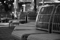 wicker chairs - S w a m p y D o g - my laidback life