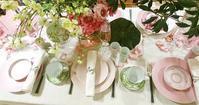 春の百貨店でのテーブルコーディネートセミナー - Table & Styling blog