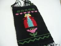 ブンデンローゼンゴン、裂き織り - アトリエひなぎく 手織り日記