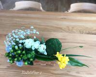 春を感じるテーブルフラワー作りのご案内 - Bleu Belle Fleur☆ブルーベルフルール