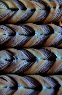 珈琲チョコツイスト - 森の中でパンを楽しむ