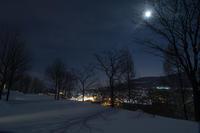 """真冬の月夜 - ときどきの記 by 小樽の出版社""""ウィルダネス""""のブログ"""