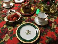 クリスマスのティータイム - coco diary 山口県 お花と絵と楽しいティータイム