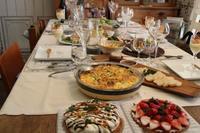 お家でランチ会 - 大好きなワインと素敵な食卓
